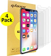 E-COMMerce [4-Packs] Compatible with iPhone XR Screen Protector, iPhone 11 Screen Protector,Tempered Glass Film for Apple iPhone XR & iPhone 11, 9HD [Case Friendly] 3D Touch 0.33mm