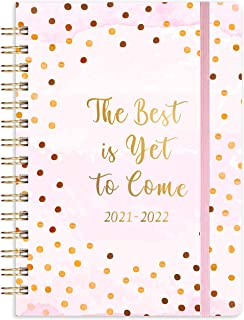 """2021-2022 Academic Planner - Weekly & Monthly Planner Jul 2021 - Jun 2022 with Monthly Tabs, 6.1""""x 8.4"""", Elastic Closure, ..."""