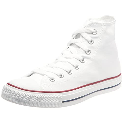 3047969e17382d Converse Chuck Taylor All Star High Top Optical White M7650 Mens 5