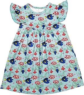 Great Lakes Kids Apparel--Finding Nemo Milk Silk Flutter Dress-Beautiful-Wrinkle Free