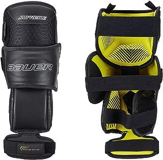 Bauer S18 Supreme Ice Hockey Goalie FleXorb Knee Guards (Junior Size)