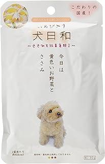 犬日和レトルト ドッグフード ささみ、緑黄色野菜 80g×12個 (まとめ買い)