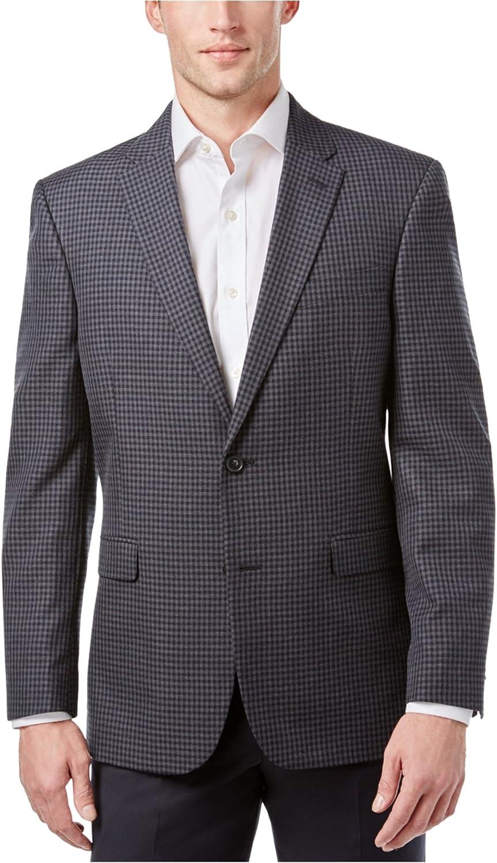 Tommy Hilfiger Mens Professional Two Button Blazer Jacket