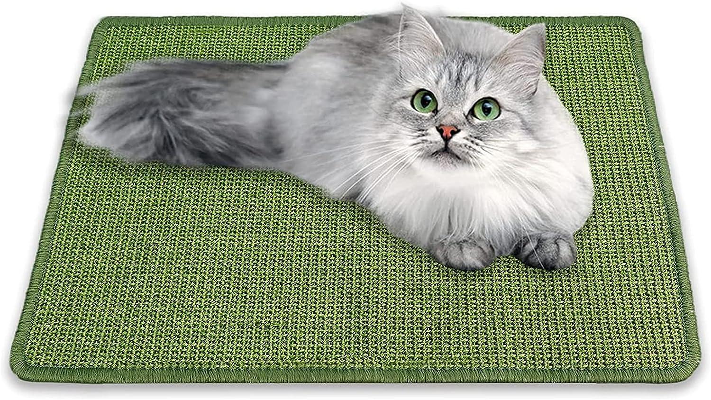 Cat Scratcher Mat Durable Natural Sisal Super popular specialty store Scratch Fort Worth Mall Hori Mats Cats