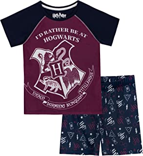 HARRY POTTER Blason Pyjama pour Femmes 2pcs Elven Forest Cotton
