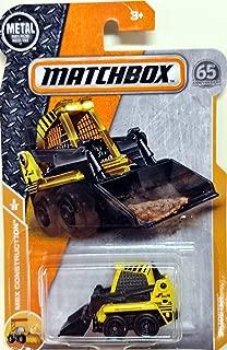 2018 Matchbox Skidster - MBX Construction Series 6/20 - Yellow/Black - 41/125