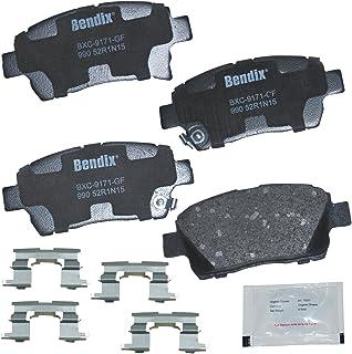 Bendix CFC990 Premium Copper Free Ceramic Brake Pad (with Installation Hardware Front)