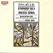 Dvorak: Symphony No. 4 / 10 Biblical Songs