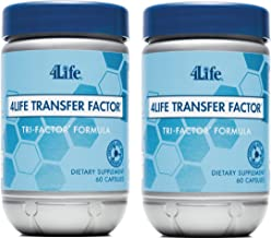 4Life Transfer Factor Tri Factor Formula supported Immune System Exclusive 60 capsules each (pack of 2) by 4life Research