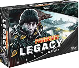 Pandemic Legacy Black Edition Board Game