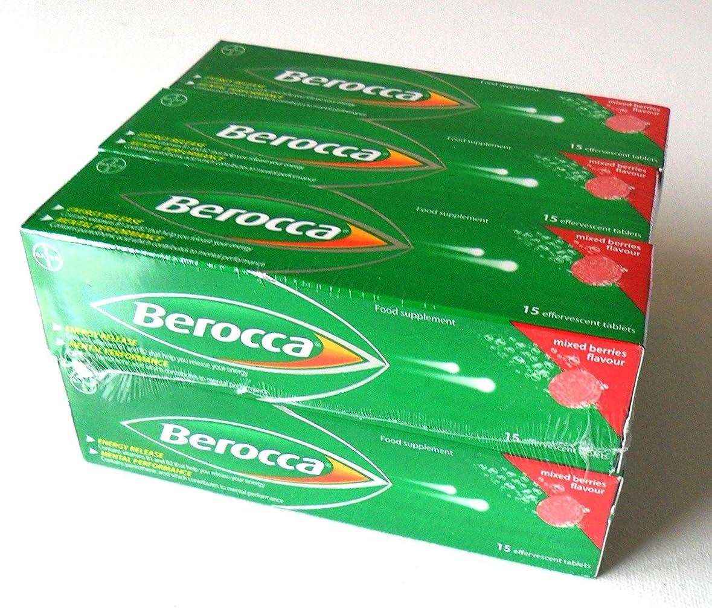 不注意くつろぎ芽Berocca Mixed Beries 6 x 15Pack