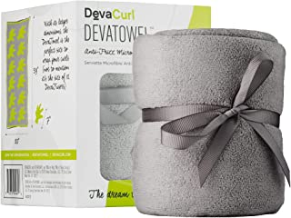 DevaCurl Microfiber Anti-Frizz Towel, Gray