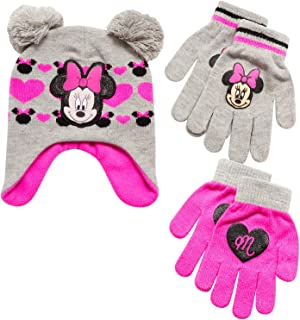 Girls Minnie Mouse and Vampirina Winter Hat and 2 Pair...