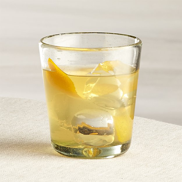 Miguel Double Old-Fashioned Glass | Crate and Barrel
