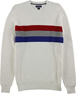 Club Room Mens Stripe Pullover Sweater
