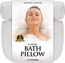 Bath Pillow (Premium Quality), Luxury Bathtub Pillow Rest (Powerful Suction Cups), Bath..
