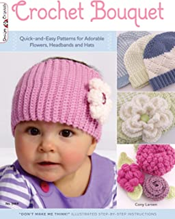 crochet flower patterns for baby headbands