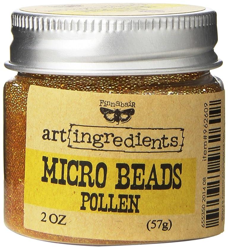 Prima Marketing Finnabair Art Ingredients Micro Beads, 2 oz, Pollen