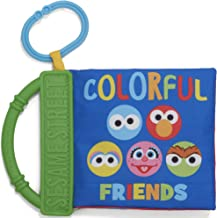 KIDS PREFERRED Sesame Street On The Go Colors with Big Bird, Elmo, and Friends Soft Teether Book