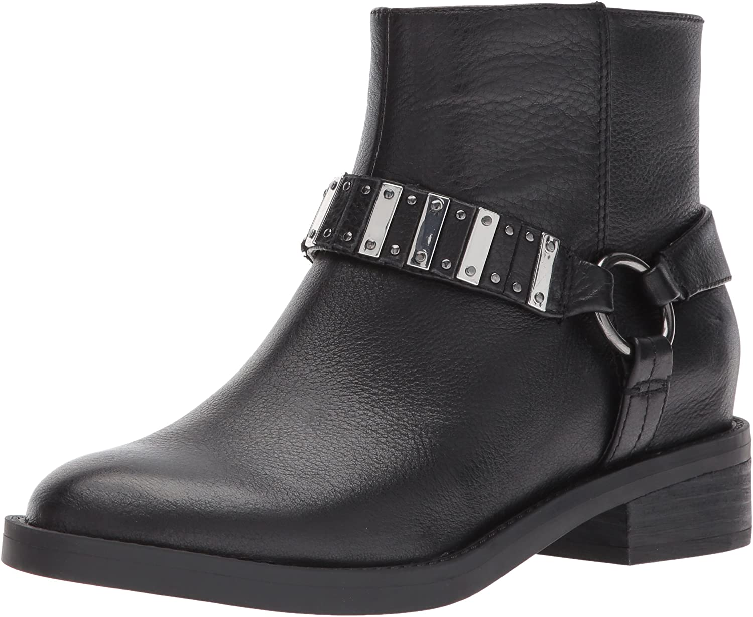 Nine West Womens Tanit Leather Ankle Boot