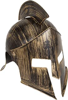 Jacobson Hat Company Men's Medieval Iron Knight Helmet