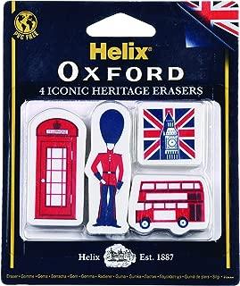 Helix Oxford British Heritage Erasers