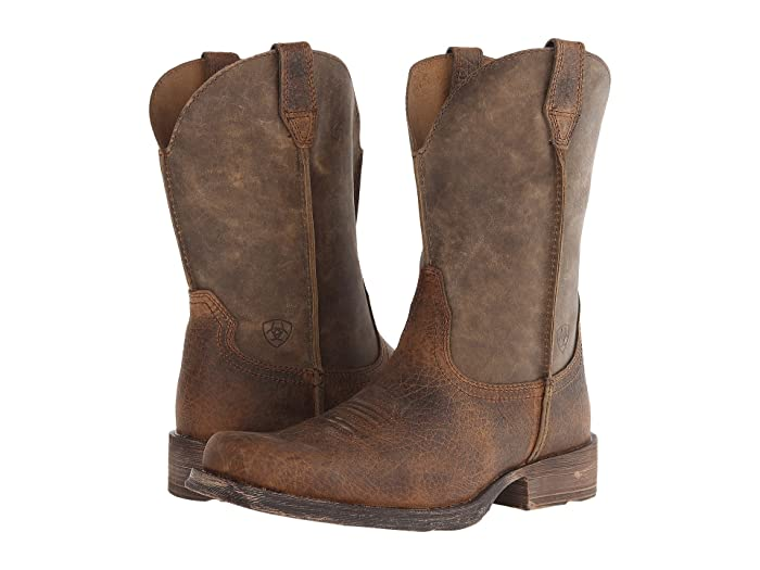 Ariat   Rambler (Earth W/ Brown Bomber) Cowboy Boots
