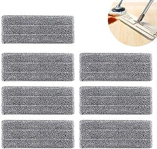 Mopa de Microfibra Cabecera de Repuesto,7 Piezas Spray de Escoba de Microfibra para Todos los Trapeadores para la Limpieza del Hogar - Gris