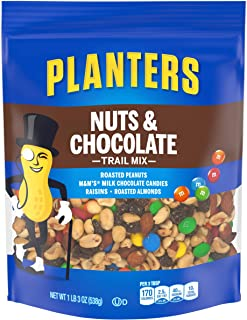 Planters Trail Mix, Nuts & Chocolate M&M's, 19 Ounce Bag (Pack of 3)