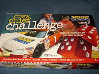 Nascar Moog Crew Chief Challenge Board Game by BBJ, Inc