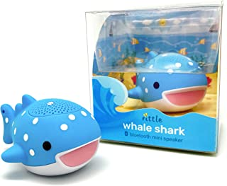 Rittle Whale Shark Cute Mini Bluetooth Animal Wireless Speaker - 3W Audio Driver Powerful Sound - with Sling for iPhone iPad Android and More