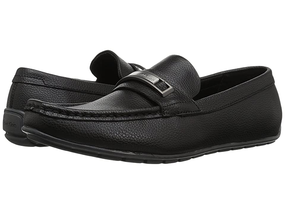 Calvin Klein Irving (Black Tumbled Leather) Men