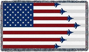 american flag fighter jet