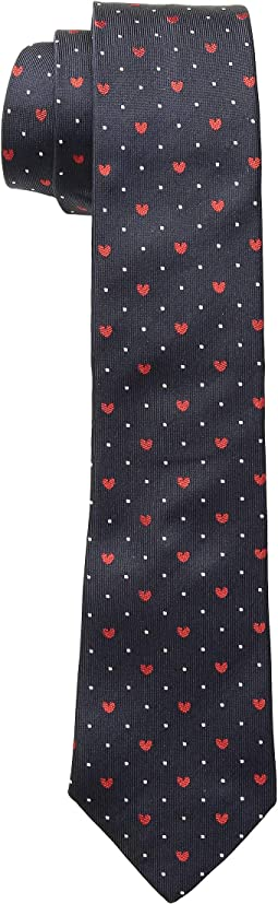 Narrow Hearts Tie