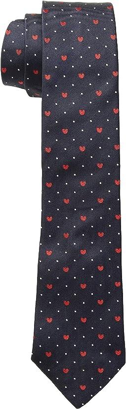 Narrow Hearts Tie