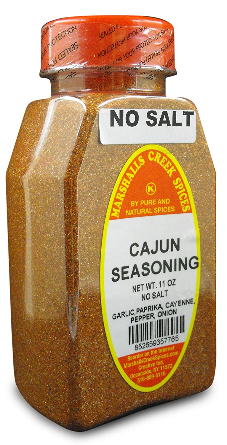 Marshalls Sales of SALE items from new works Creek Outstanding Spices 3 PACK CAJUN SALT SEASONING NO
