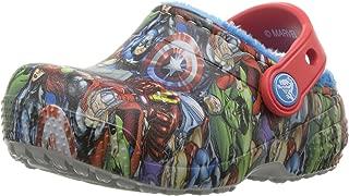 Crocs Boys' Crocsfunlab Lined Avengers Clog Navy 7 M US Toddler