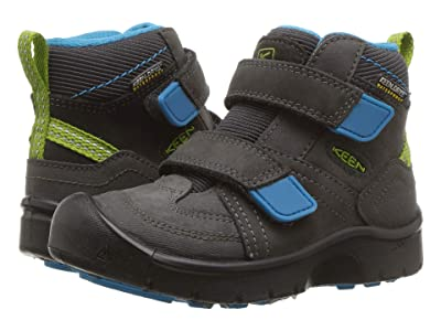 Keen Kids Hikeport Mid Strap WP (Toddler/Little Kid) (Magnet/Greenery) Boy