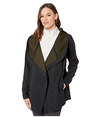 New Balance Evolve Well Being Hooded Jacket (Black) Women