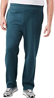 KingSize Men's Big & Tall Fleece Open-Bottom Sweatpants