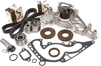 Evergreen TBK298HWPT Fits 98-07 Lexus Toyota Tundra Sequoia 4.7L DOHC Timing Belt Kit Water Pump