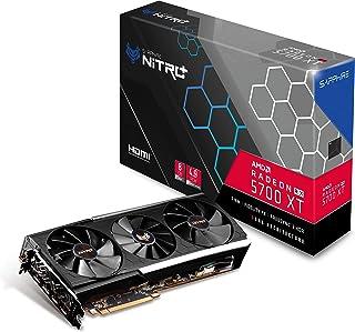 Sapphire 11293-03-40G Radeon NITRO+ Rx 5700 Xt 8GB GDDR6 Dual HDMI/ Dual DP OC (UEFI) PCIe 4.0 Graphics Card