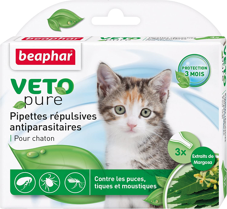 Beaphar vetopure pipetas sauberkeitsschutz antiparasitaires ...
