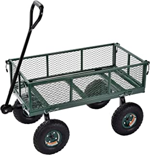Sandusky Lee CW3418 Muscle Carts Steel Utility Garden Wagon, 400 lb. Load Capacity, 21-3/4