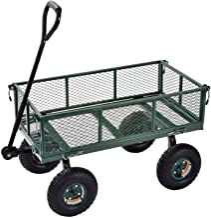 "Sandusky Lee CW3418 Muscle Carts Steel Utility Garden Wagon, 400 lb. Load Capacity, 21-3/4"" Height x 34"" Length x 18"" Width"