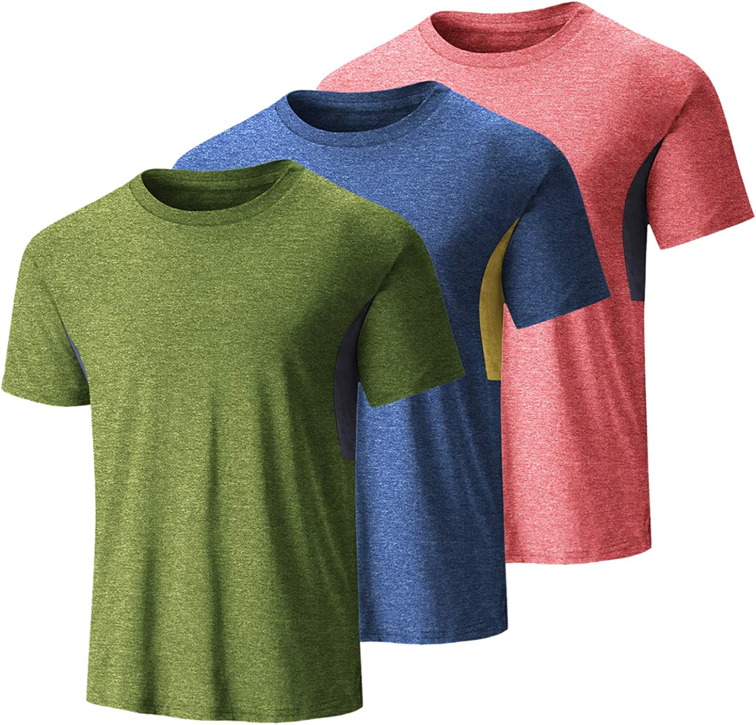 COOFANDY Men's 3 Pack Workout T Shirts Athletic Runnin Dry Quick Max 75% OFF Tulsa Mall