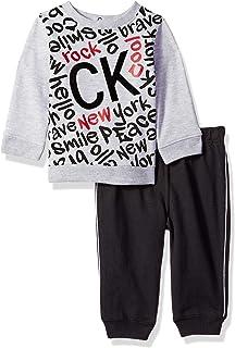Calvin Klein Baby Boys 2 Pieces Jog Pant Set