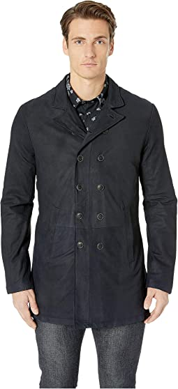 Double Breasted Cut-Away Coat L1023U4