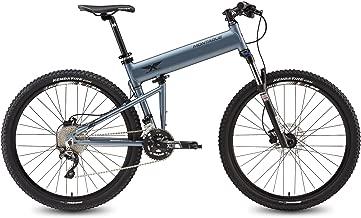 Montague Paratrooper Highline,20 Speed Folding Mountain Bike, Light Trail Bike with Suspension Folding Mountain Bikes for Adults, Lightweight Folding Bike, Folding Bike-Matte Grey-New Model