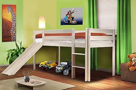 Letto A Soppalco Ikea Una Piazza E Mezza.Amazon It Letto A Soppalco Ikea Includi Non Disponibili Casa E